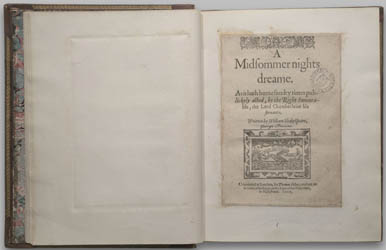 The Quartos of William Shakespeare - shakespeare's quartos  Shaamj1